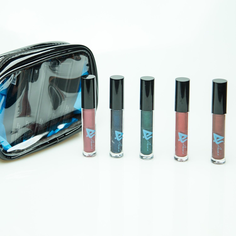 Metallic Matte Lip Paint Set