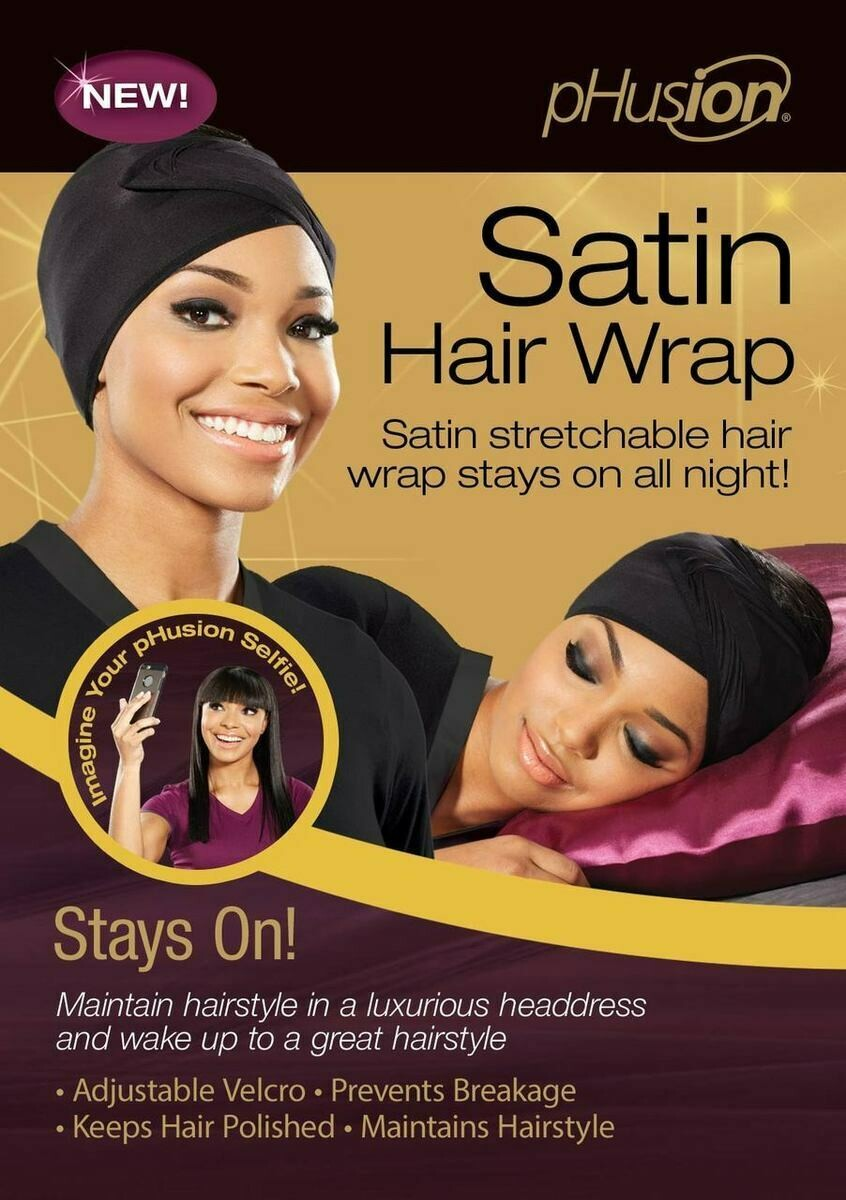 Satin Hair Wrap