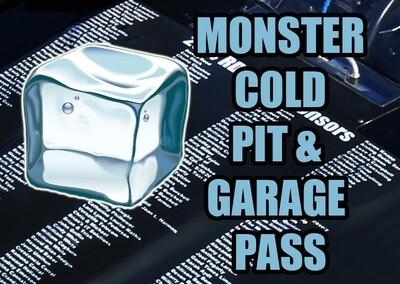 NASCAR Monster COLD Pit Pass - Fan Sponsor on 08/09/20 Michigan