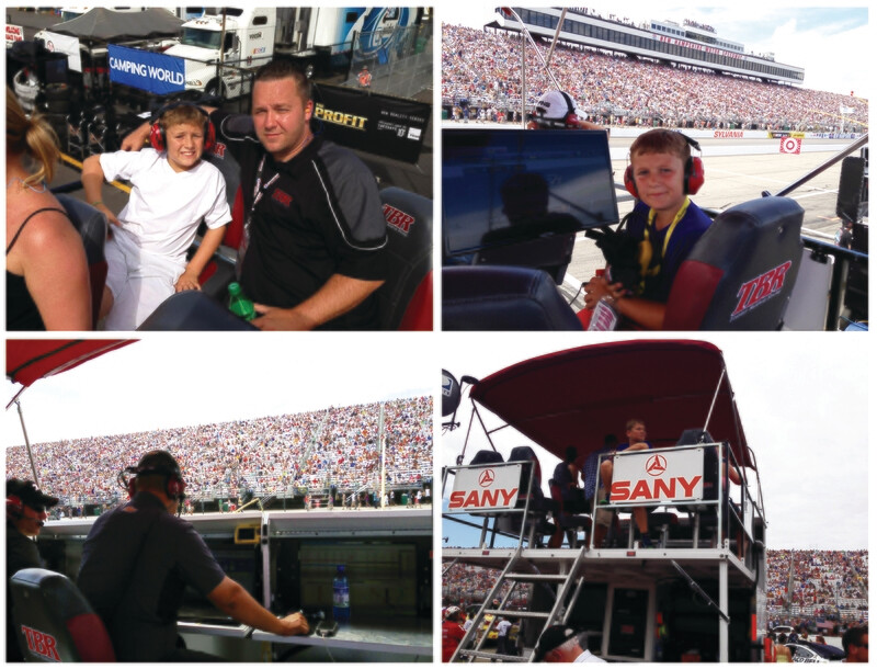 NASCAR Monster Hot Pit Pass with Pit Box Seat - Fan Sponsor