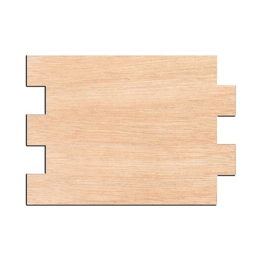 Faux Wood Pallet - Raw Wood Cutout