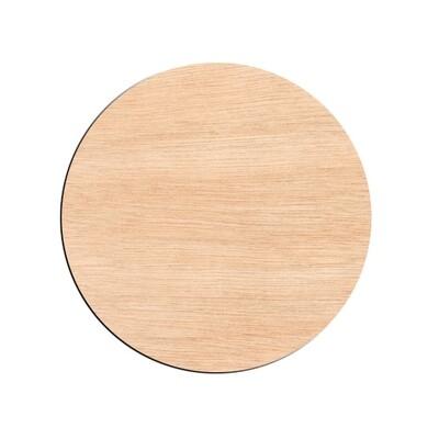 Circle - Raw Wood Cutout