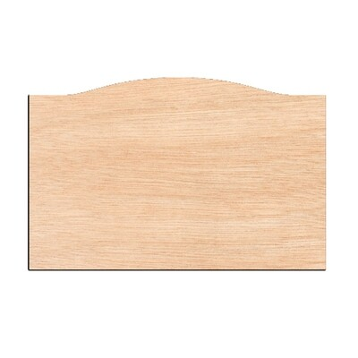 Door Sign - Raw Wood Cutout