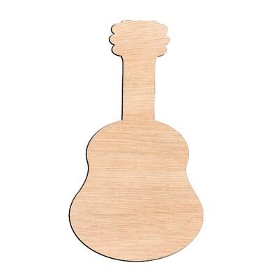Guitar - Raw Wood Cutout