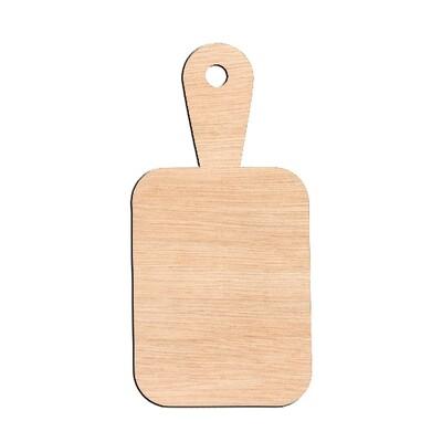 Cutting Board - Raw Wood Cutout
