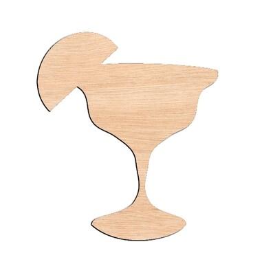 Margarita - Raw Wood Cutout