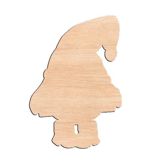 Gnome - Raw Wood Cutout