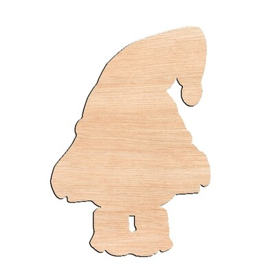 Gnome - Raw Wood Cutout