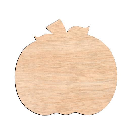 Pumpkin - Raw Wood Cutout