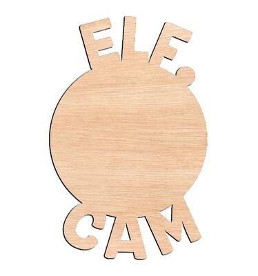 Elf Cam - Raw Wood Cutout