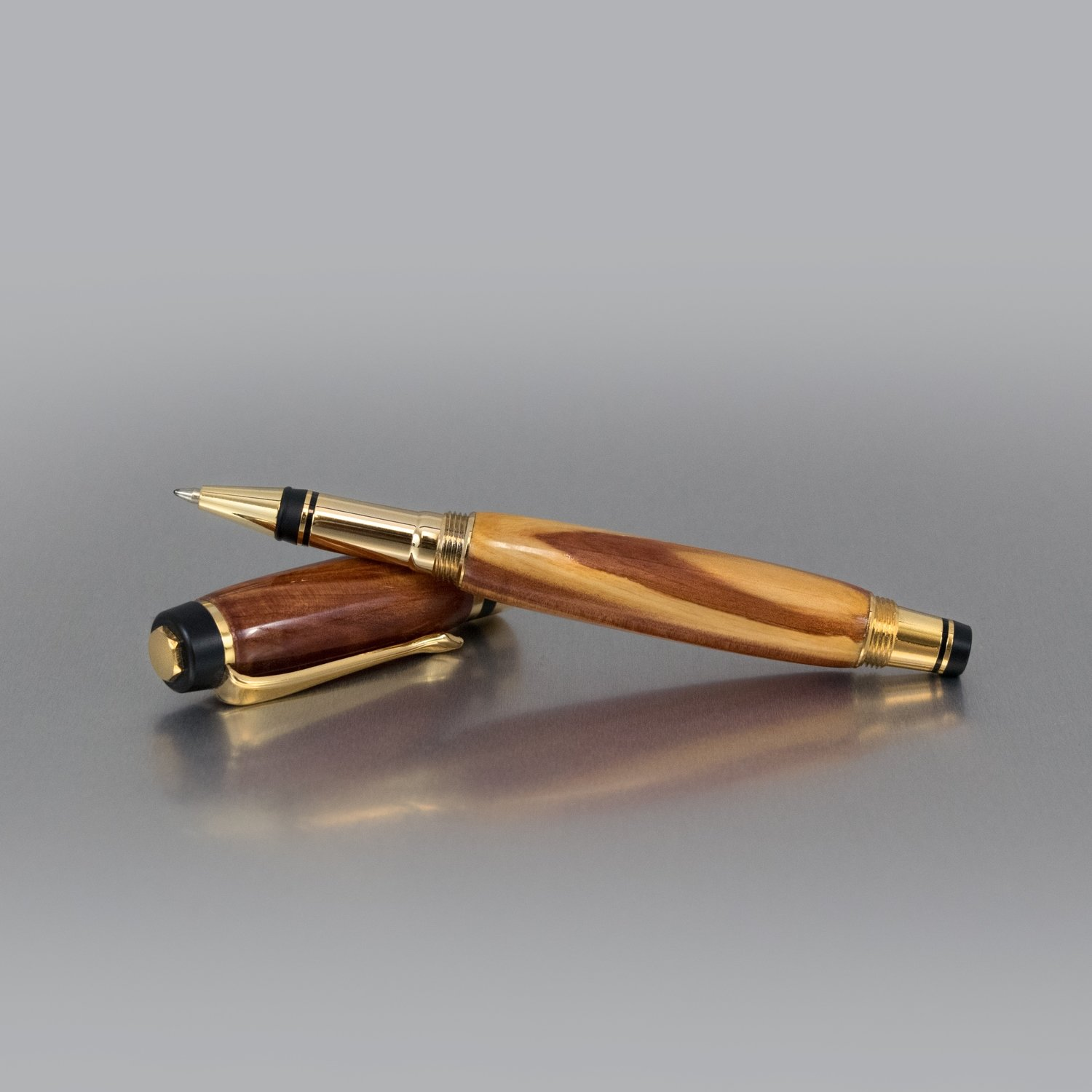 Executive Rollerball Pen - Cedar Wood (Mix)