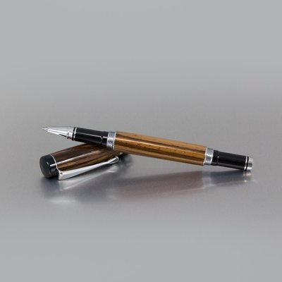 Executive Rollerball Pen - Zebrawood