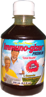 Immuno-gizer Premium (6 bottles, approx. 5 month supply)