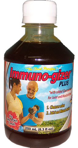 Immuno-gizer Plus (6 bottles, approx. 5 month supply)