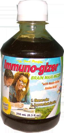 Immuno-gizer Brain Maximizer (6 bottles / approx. 5 month supply)