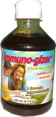 Immuno-gizer Brain Maximizer (6 bottles / approx. 5 month supply)