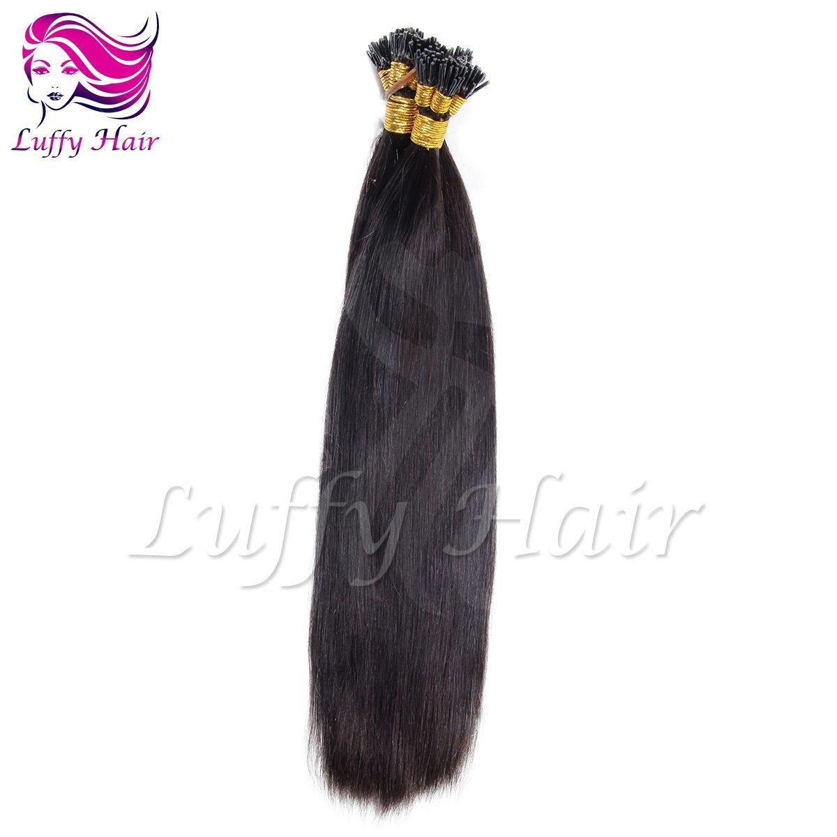 10A Virgin Human Hair Silky Straight Fusion Hair Extensions - KFL004