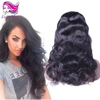 8A Virgin Human Hair Natural Wave U Part Wig - KWU008