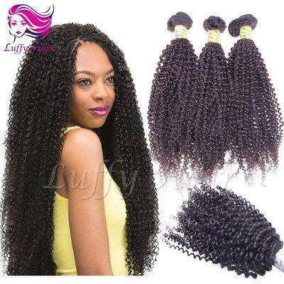 8A Virgin Human Hair Afro Hair Bundle - KEL003