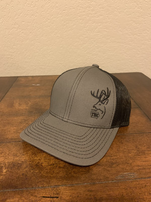 Grey/Black TBI Hat