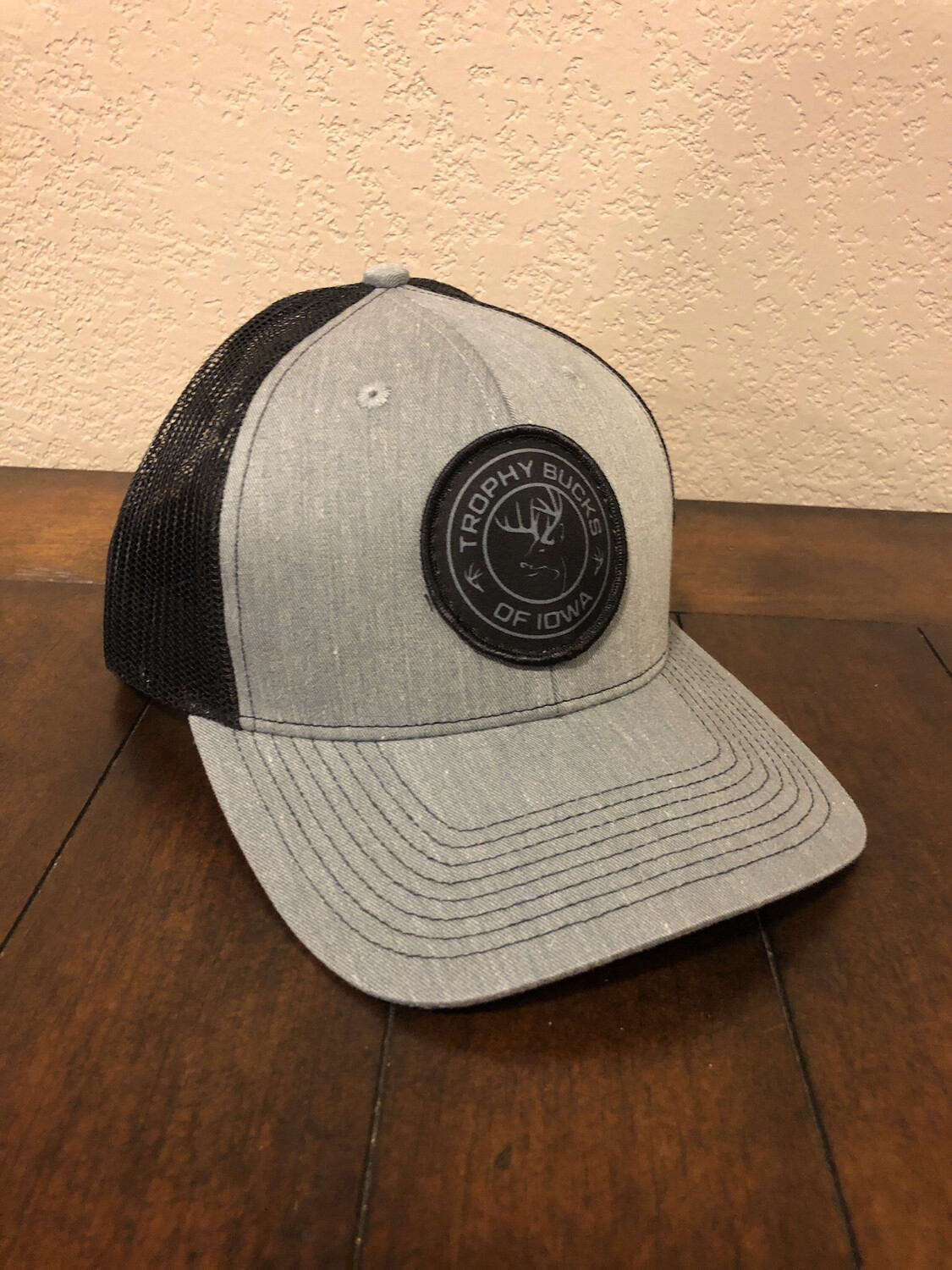 TBI Circle Patch - Grey / Black