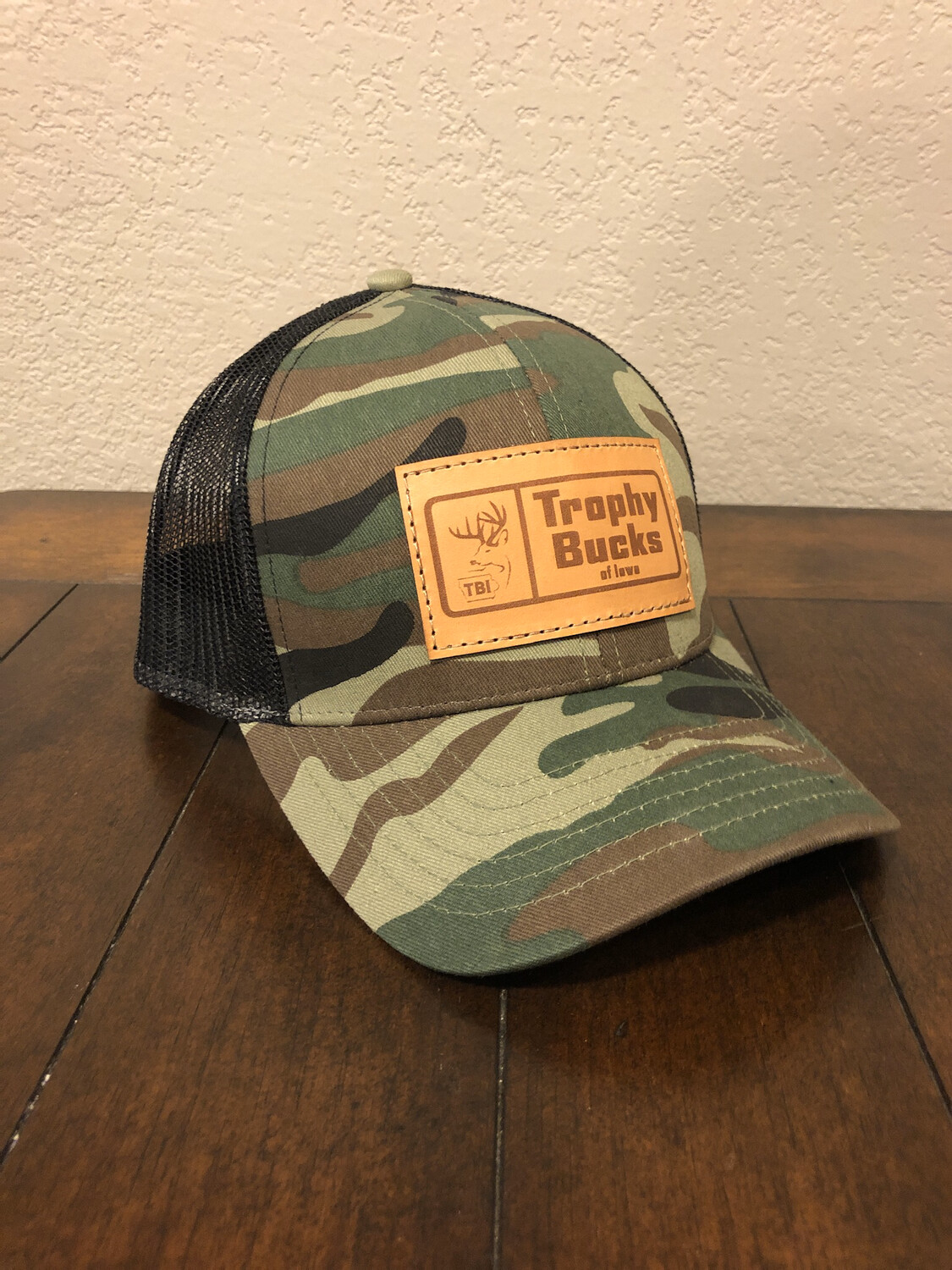 TBI Rectangle Patch - Camo / Black