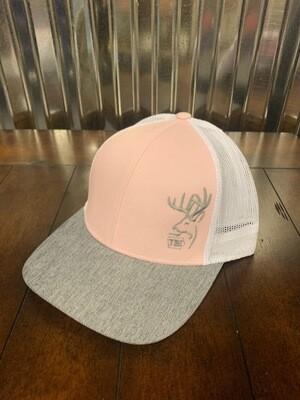 Pink/Grey/White TBI Hat