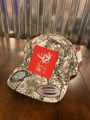 Badlands Red Patch Hat
