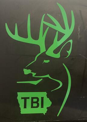Green Alt TBI Decal