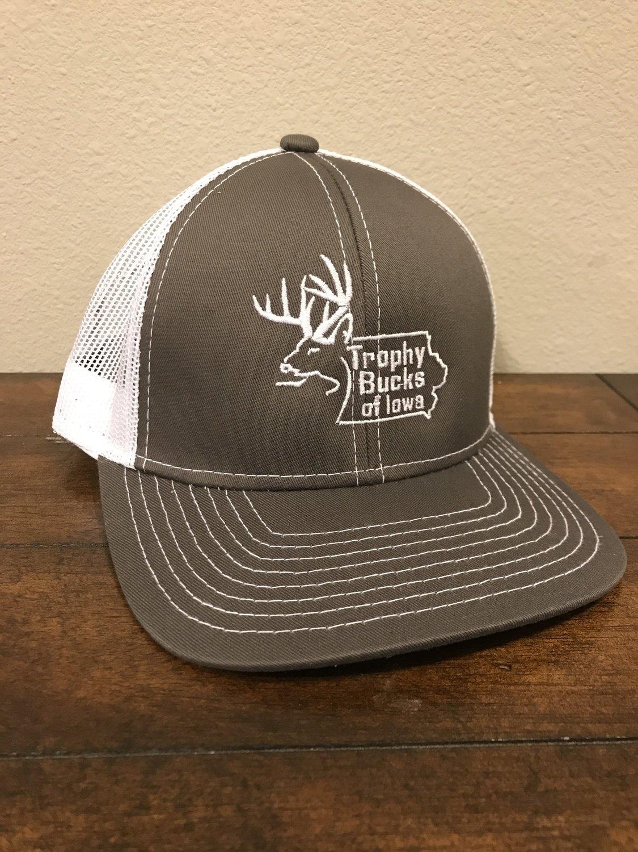 White / Grey TBI Hat