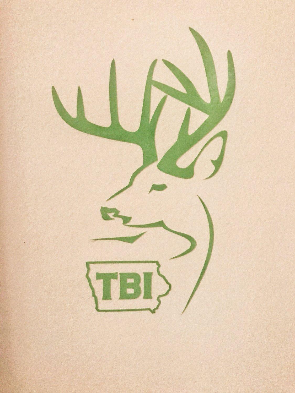 Green Alternative Logo Decal