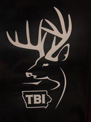 White Alternative Logo Decal