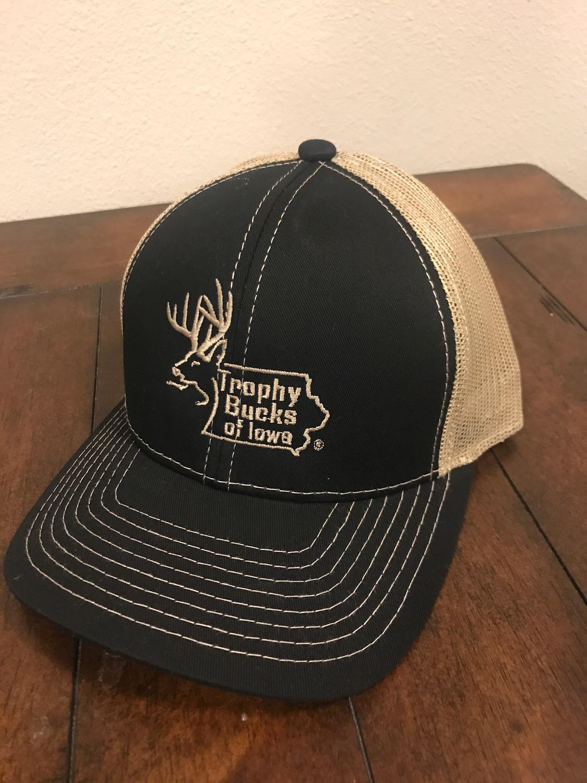 Black / Tan TBI Hat