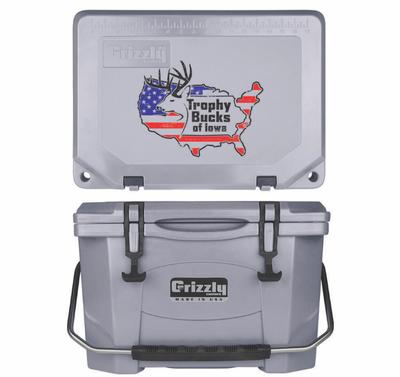 Grizzly G20 (20 quart) TBI USA Logo Gray