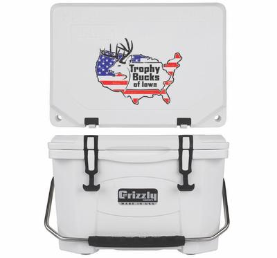 Grizzly G20 (20 quart) TBI USA Logo White