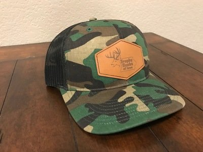 Camo / Brown Hex Patch Hat