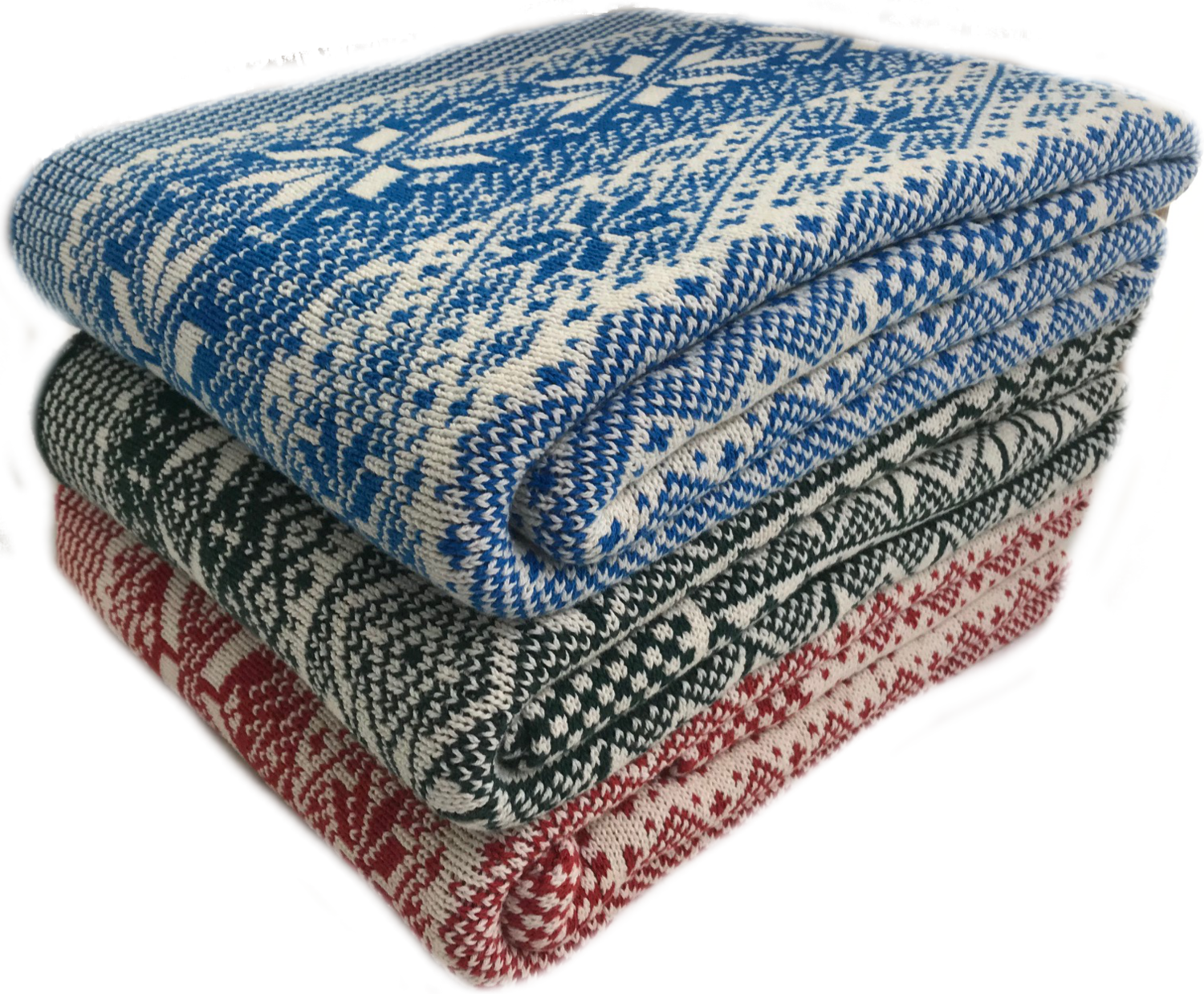 Snowflake Double-Sided Throw (3 colors available)