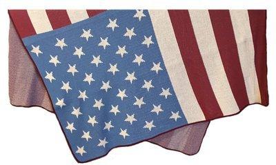 Vintage Flag Throw