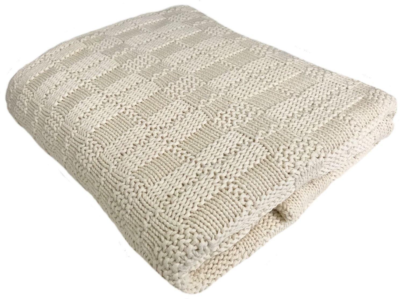 "Large Adirondack Cotton Throw 50""x60"""