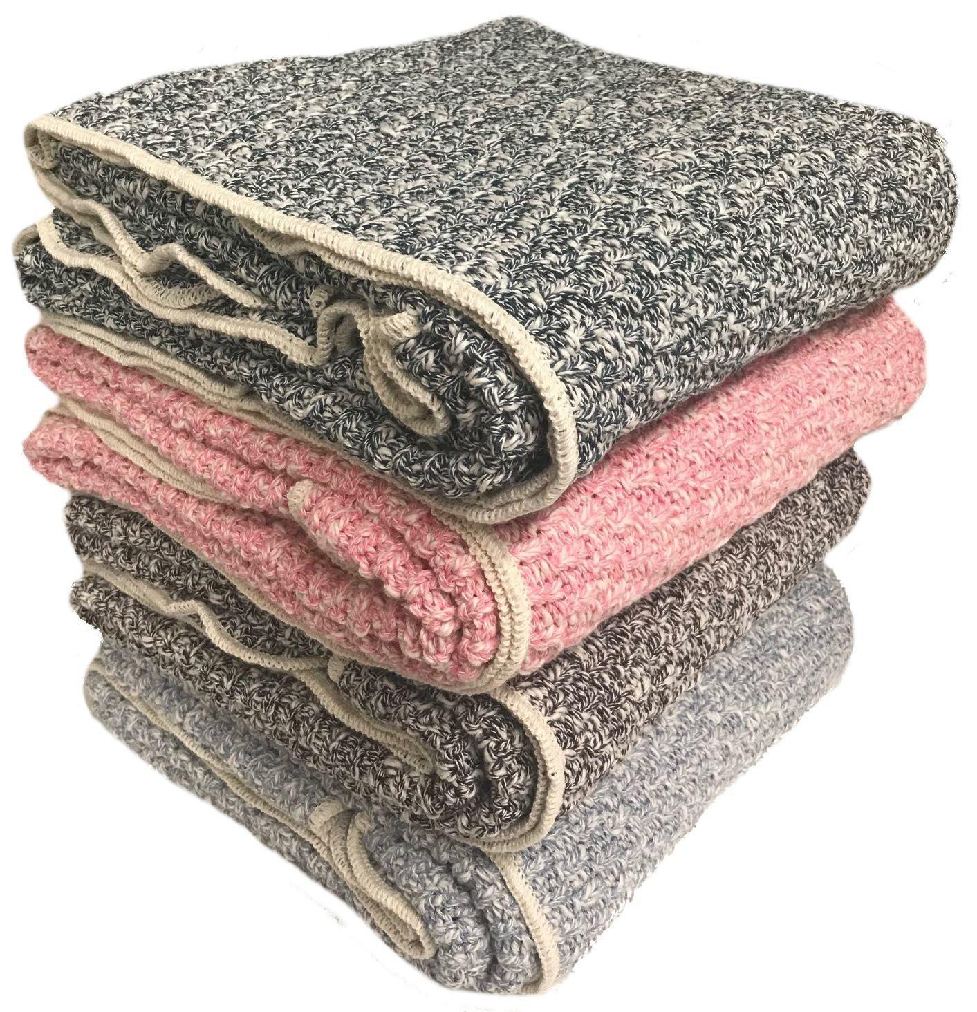 Slub Cotton Throw (4 colors available)