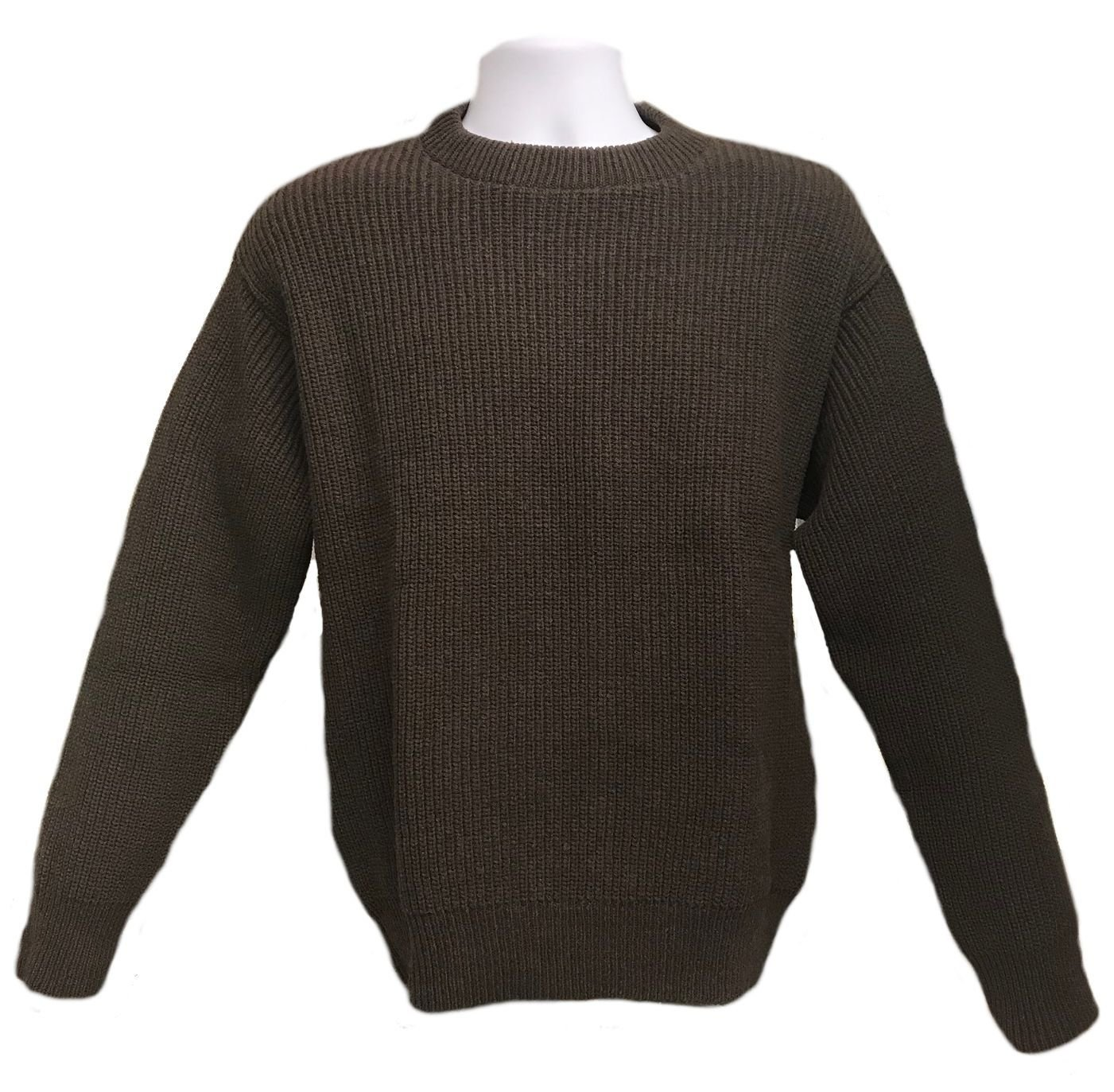 Brown Shaker Pullover