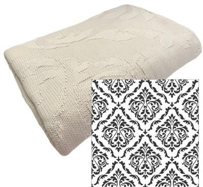Victorian Cotton Pattern Throw