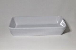 "Vegetable Oblong Dishes 9"" x 14"" without lip"