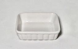 "Whiteware Lasagne Dish 5.5"""