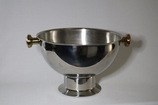 Punch Bowl Brass Handles