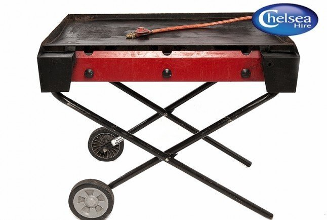 "Gas BBQ Griddle Style 48"""" x 24"""""