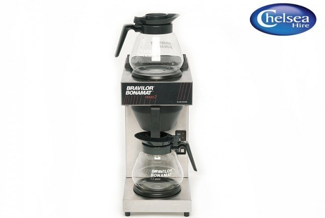 Coffee Machine Pour On 2 Pot