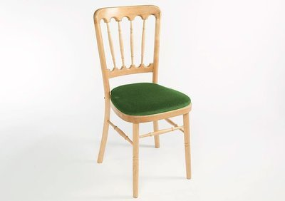Natural Spindle Back Chair