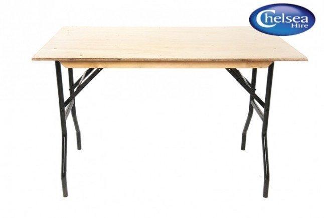 """4' x 2' 6"""""""" Trestle Table"""