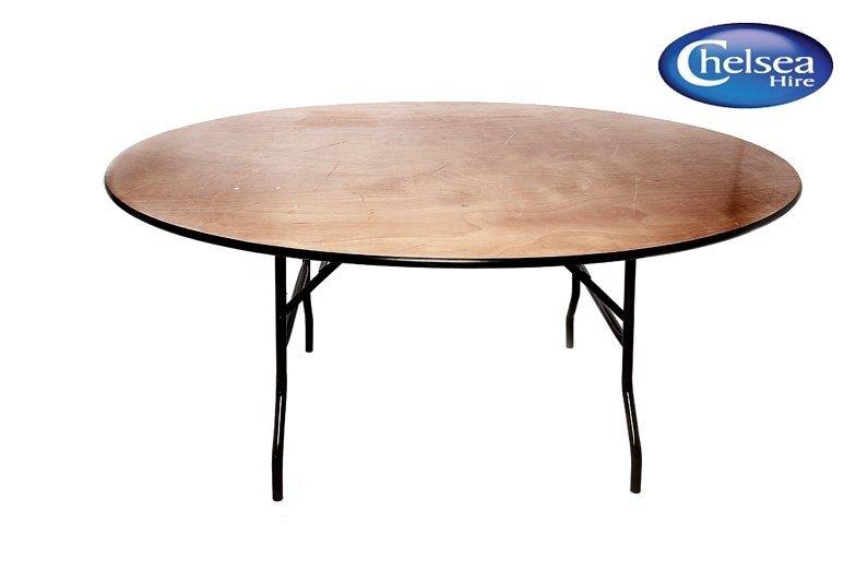 6' (183cm) Circular Table